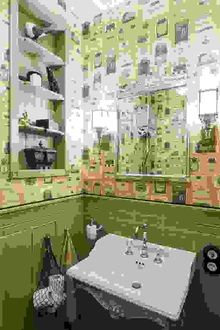 studio68-32 Eclectic style bathroom Wood Beige