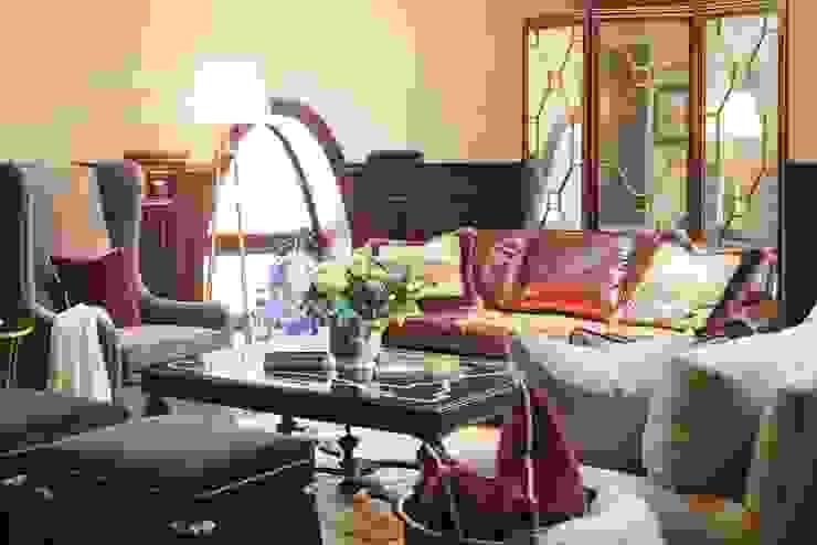 studio68-32 Eclectic style living room