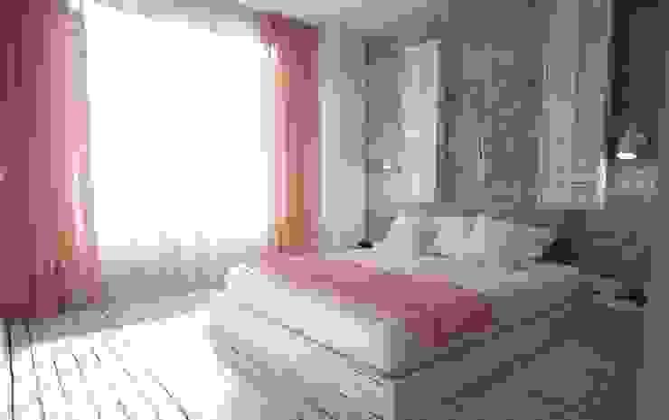 50GR Mimarlık – YATAK ODASI:  tarz Yatak Odası, İskandinav