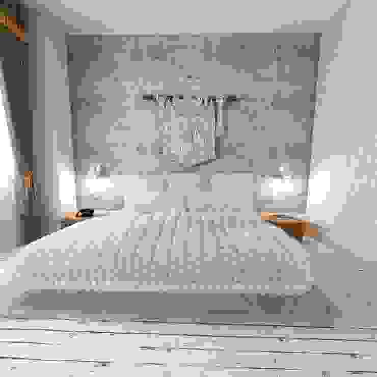50GR Mimarlık – YATAK ODASI:  tarz Yatak Odası, Eklektik