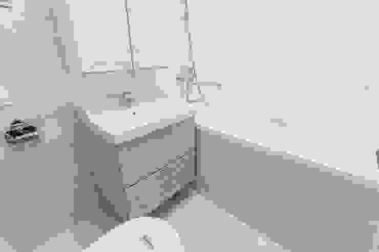 Ремонт ванной комнаты 3,5 кв. метра Ванная в классическом стиле от Ремонт и дизайн квартир с ICON Классический