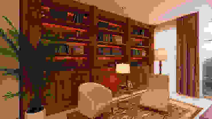 Estudios y despachos de estilo moderno de Alpha Details Moderno