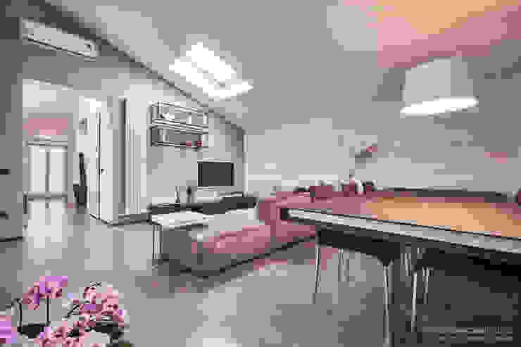 Rachele Biancalani Studio Ruang Keluarga Minimalis