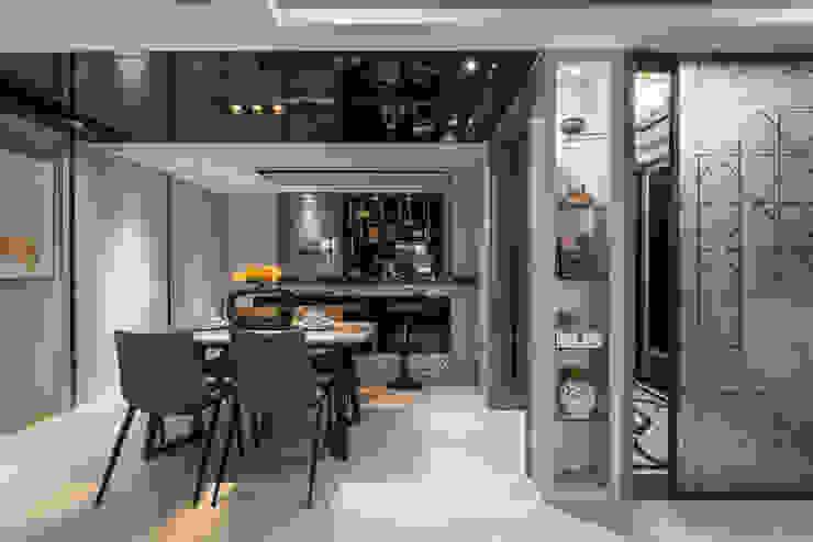 客廳 根據 你你空間設計 現代風 塑木複合材料