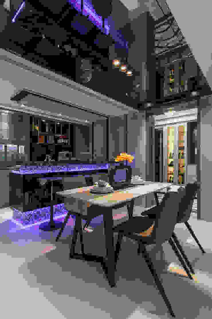 餐廳 根據 你你空間設計 現代風 大理石