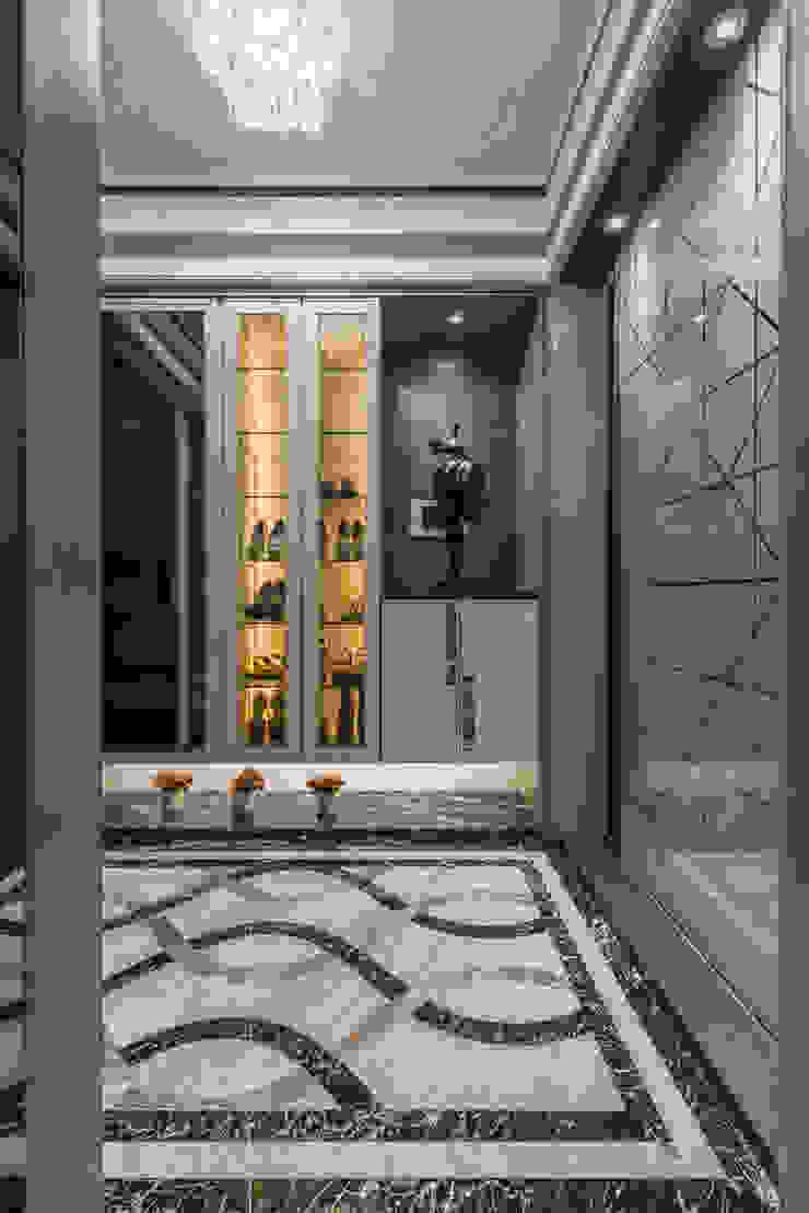 玄關 現代風玄關、走廊與階梯 根據 你你空間設計 現代風 大理石