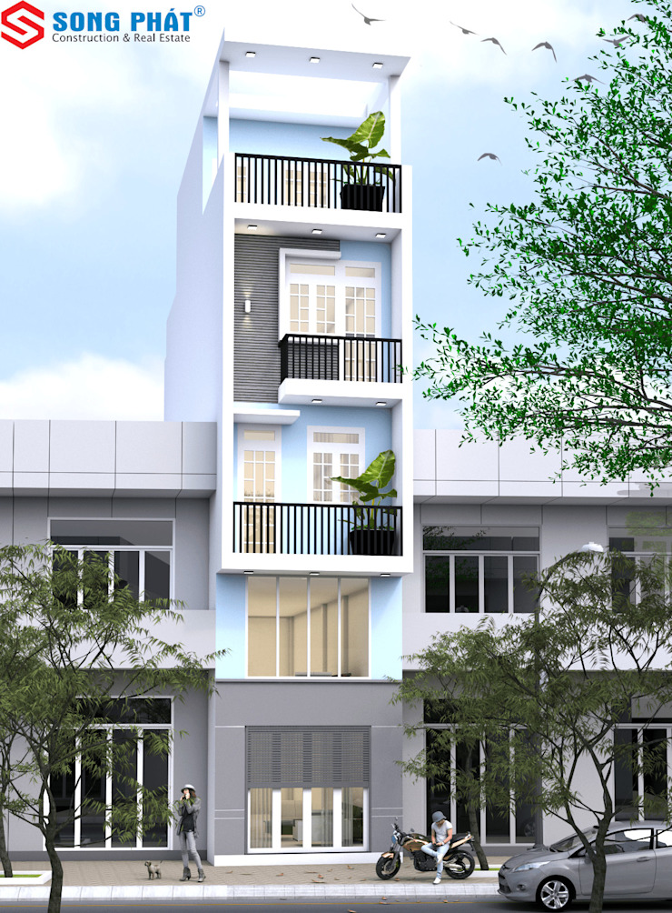 Công ty Thiết Kế Xây Dựng Song Phát Office buildings