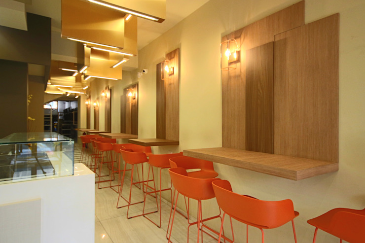 Studio Ferlenda Restaurantes Derivados de madera