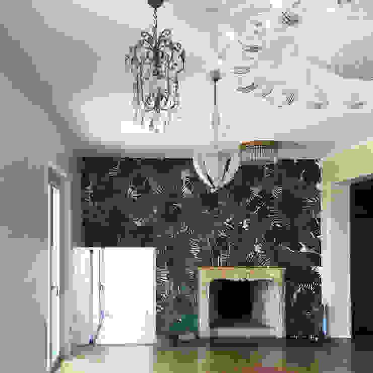Casa Varese II sala da pranzo Kazuyo Komoda (Design Studio) Sala da pranzo in stile classico Verde