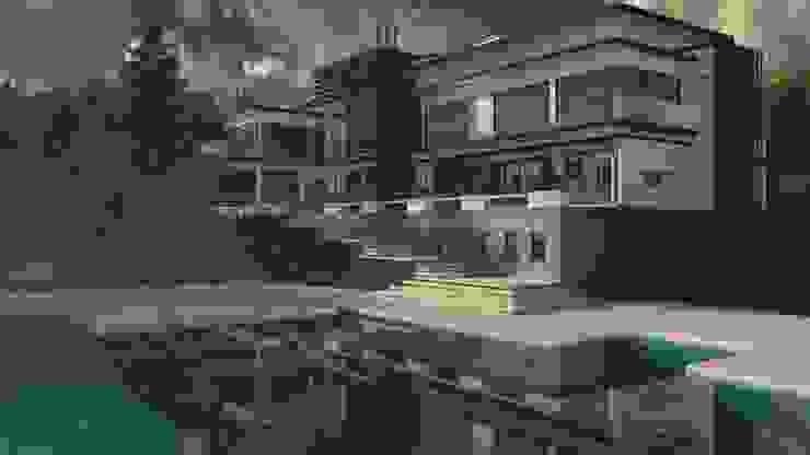 Casa Bitaco de ACE Arquitectura Diseño y Construcción Moderno Concreto