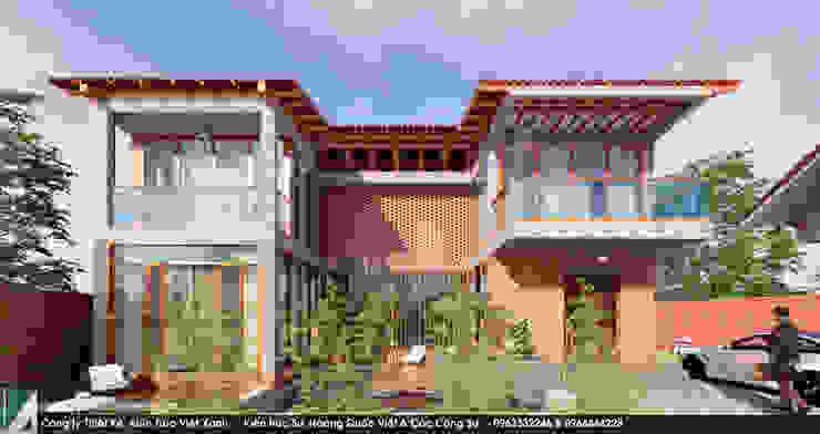 Biệt thự 2 Tầng - Mộc mạc bởi Kiến trúc Việt Xanh
