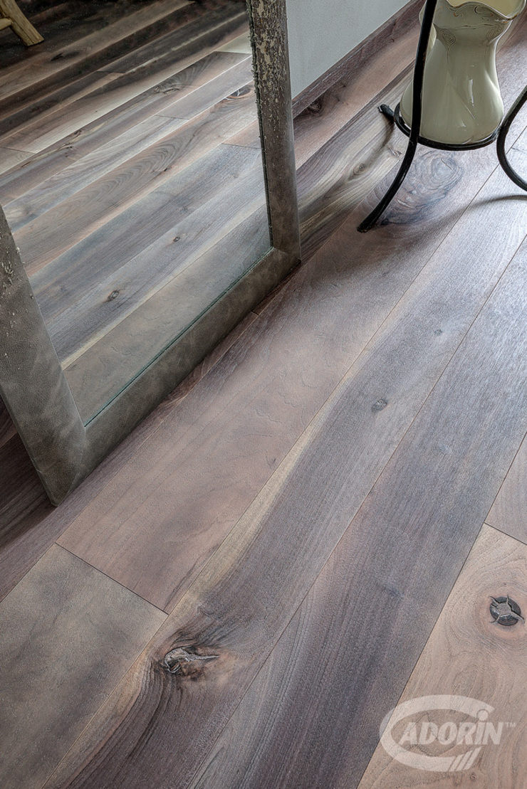 Cadorin Group Srl - Italian craftsmanship production Wood flooring and Coverings Industrial style bedroom