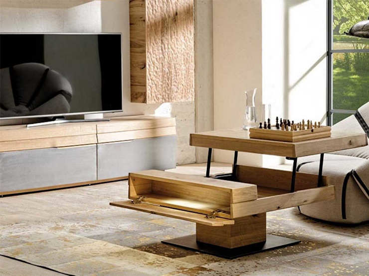 Imagine Outlet Salones de estilo moderno Compuestos de madera y plástico Marrón