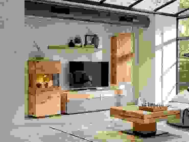 Ensemble haut de gamme de mobilier pour votre salon Salon moderne par Imagine Outlet Moderne Bois Effet bois