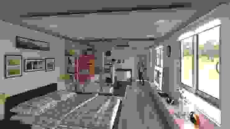 Propuesta de diseño apartaestudio de Fenix Arquitectura s.a.s