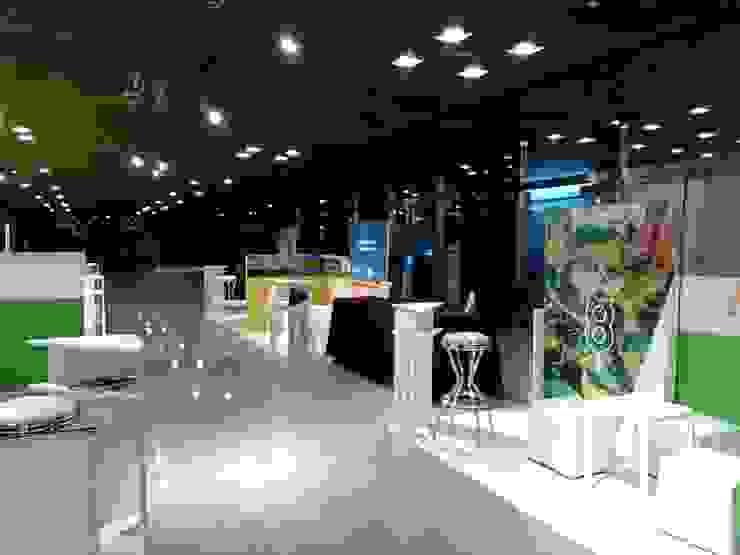 MERCOSOJA 2019 Centros de exposiciones de estilo moderno de Faerman Stands y Asoc S.R.L. - Arquitectos - Rosario Moderno