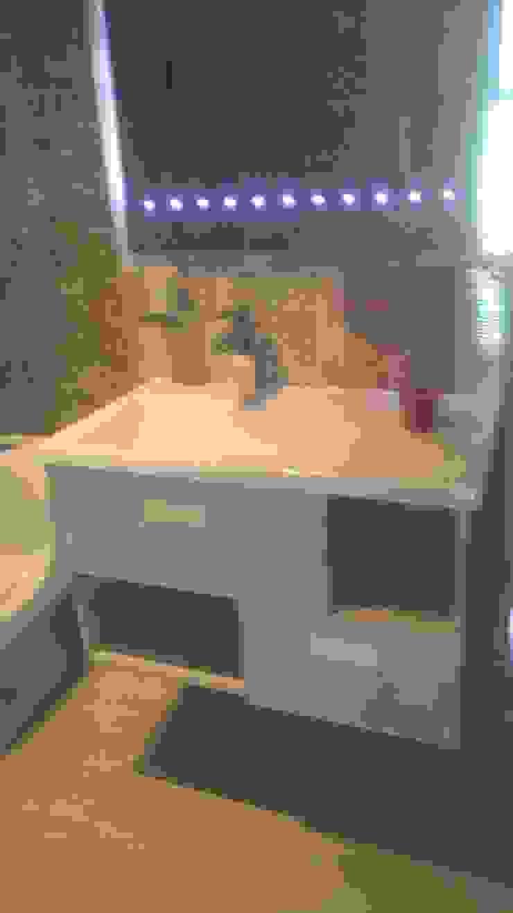 incrustaciones de baños de CONSTRUCCIÓN PROYECTO DESIGN S.A.S Ecléctico