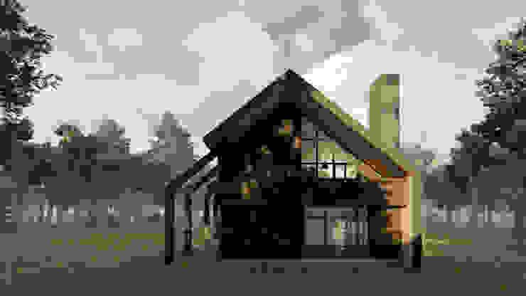 Casas modernas de Soc. Constructora Cavent Spa Moderno