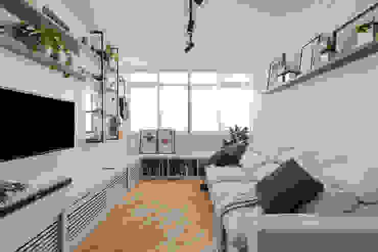 Estúdio Gris Arquitetura Modern Living Room