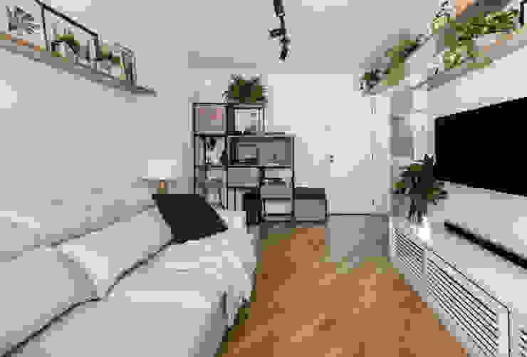 DCHR_03 Salas de estar modernas por Estúdio Gris Arquitetura Moderno