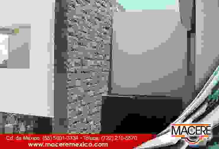 MACERE México Murs & SolsRevêtements de mur et de sol Pierre Noir