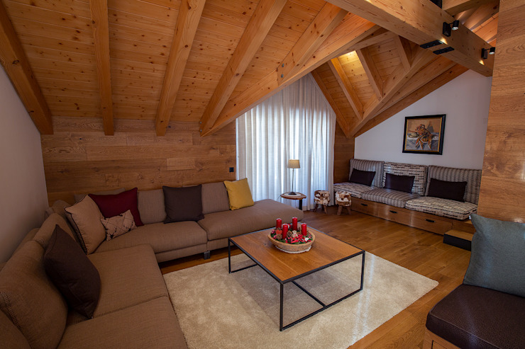 BEARprogetti - Architetto Enrico Bellotti Modern Living Room