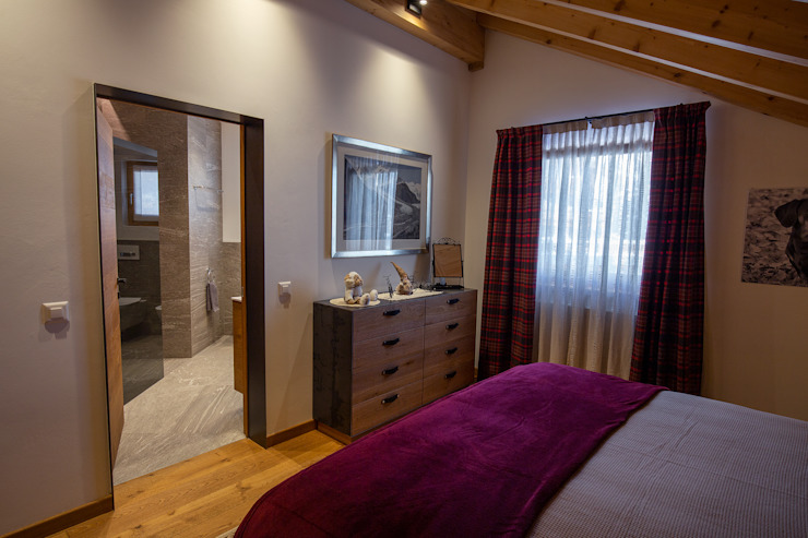 BEARprogetti - Architetto Enrico Bellotti Modern Bedroom