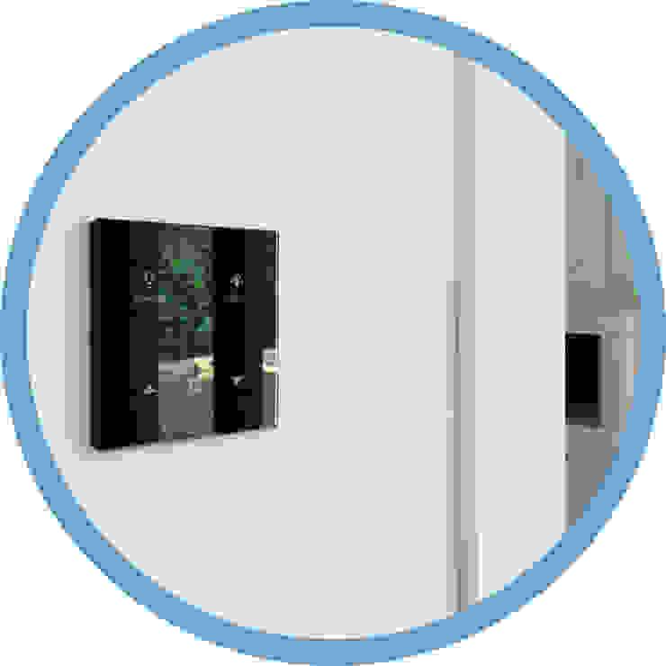 Pulsador multifunción KNX Indomotiq, Inmótica y Domótica (Madrid y zona centro) Dormitorios pequeños
