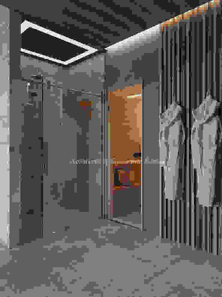 Spas de estilo ecléctico de Архитектурное Бюро 'Капитель' Ecléctico