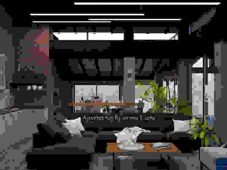 Livings de estilo ecléctico de Архитектурное Бюро 'Капитель' Ecléctico