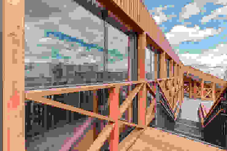 Alpbau Scandinavian style shopping centres Wood
