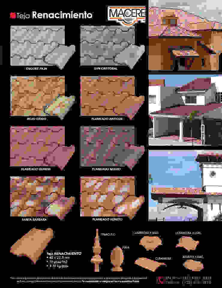 MACERE México Lean-to roof Ceramic Multicolored