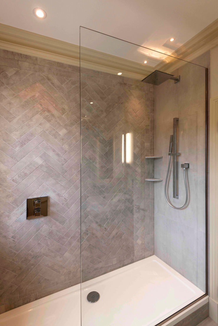 Bathroom no. 2 Prestige Architects By Marco Braghiroli Banheiros modernos