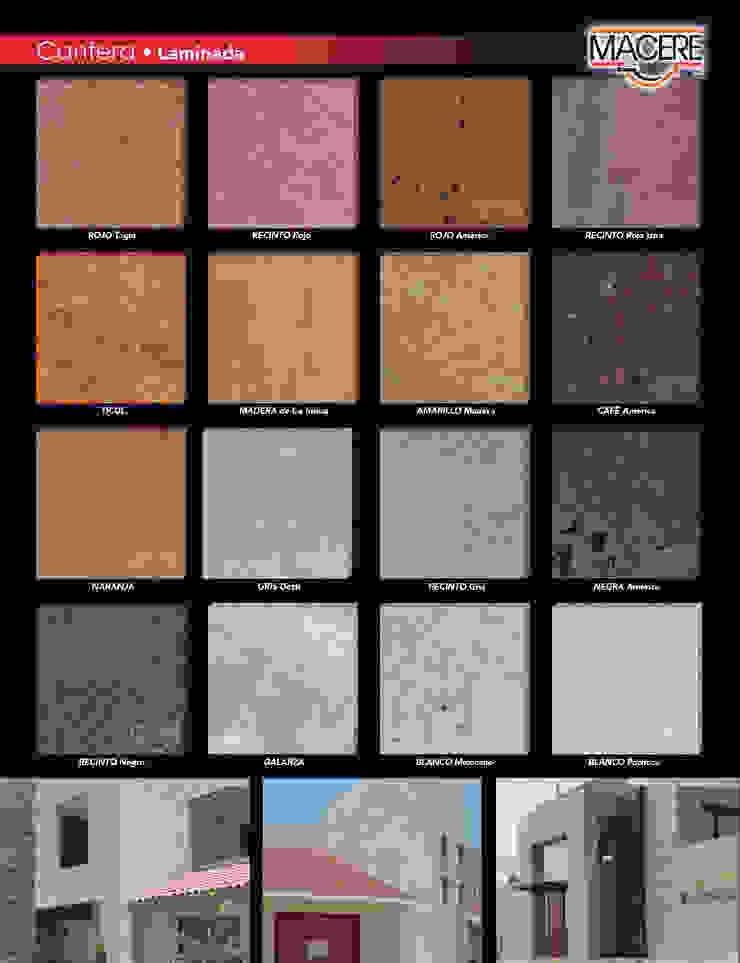 MACERE México Murs & SolsRevêtements de mur et de sol Pierre Multicolore