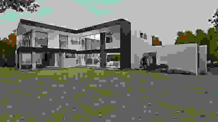 CASA GOMEZ de M.arquitectura Moderno Concreto