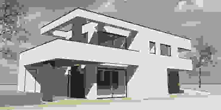 dubbel terras van Studio FLORIS Modern Aluminium / Zink
