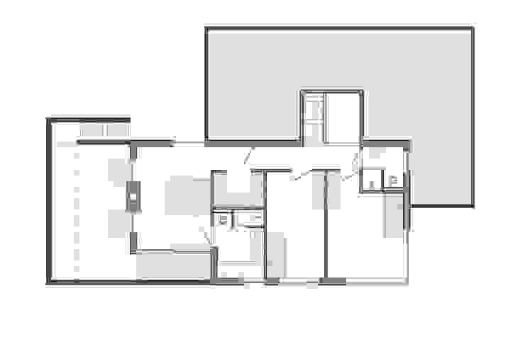 verdieping plan Moderne slaapkamers van Studio FLORIS Modern