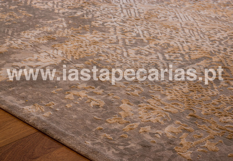 modern  by IAS Tapeçarias, Modern Textile Amber/Gold