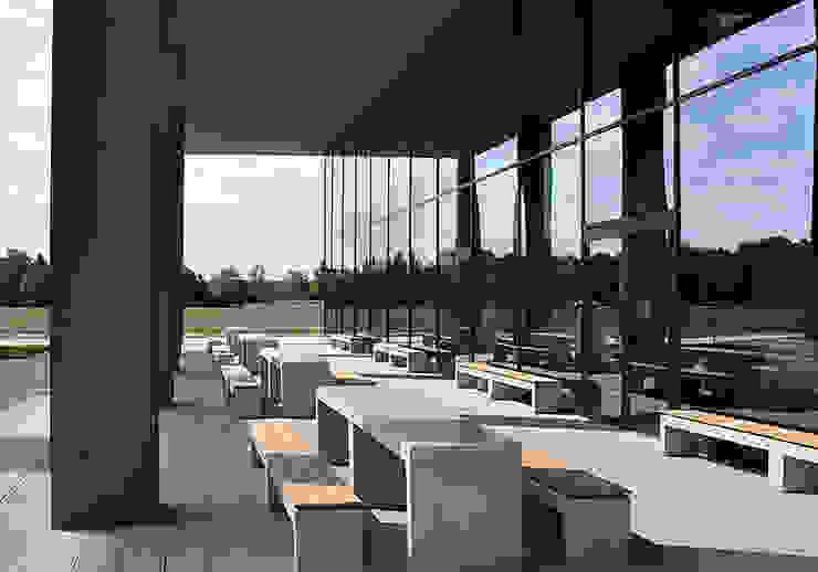 Modern Terrace by oggi-beton Modern Concrete