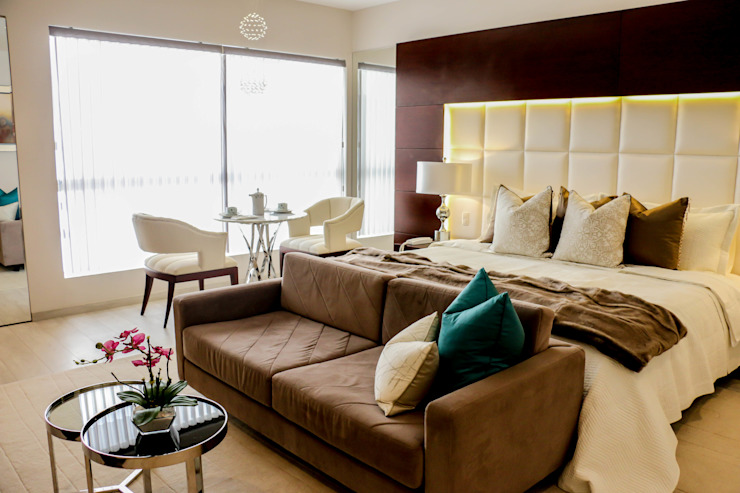 Proyecto OT Dormitorios de estilo moderno de Mario Ramos Moderno