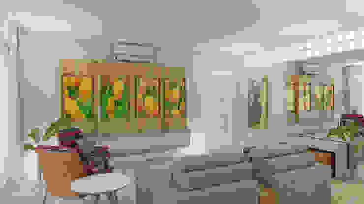 Elaine Hormann Architecture ห้องสันทนาการ ไม้จริง Multicolored