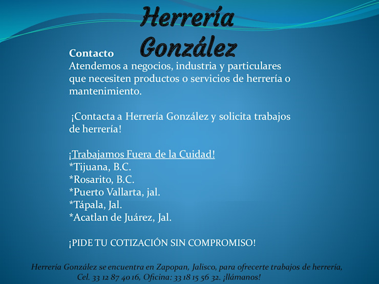 HERRERIA GONZALEZ by herrería gonzalez Rustic Metal