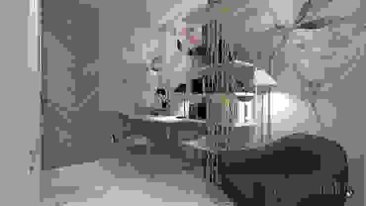 Studio: Studio in stile  di serenascaioli_progettidinterni, Moderno