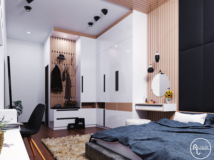 Kamar Tidur Oleh Arudate Design Modern Kayu Lapis