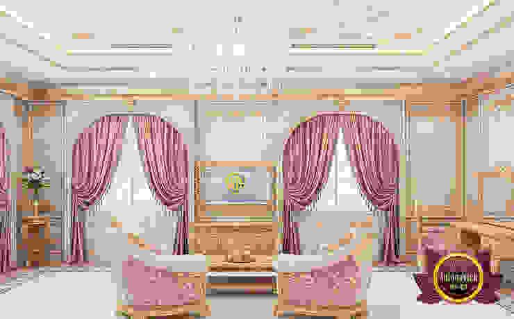 Perfect Furniture Arrangement for Master Bedroom by Luxury Antonovich Design