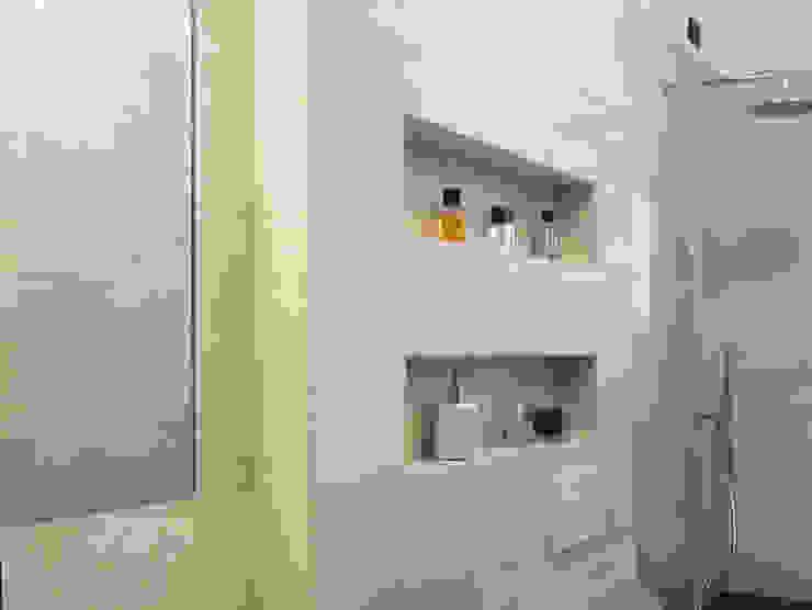 nicchie in muratura studio di progettazione architetto caterina martini Bagno moderno