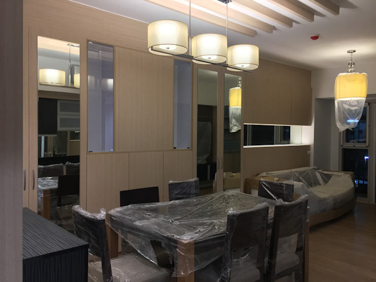 2 Bedroom Condominium Project Modern dining room by MKC DESIGN Modern
