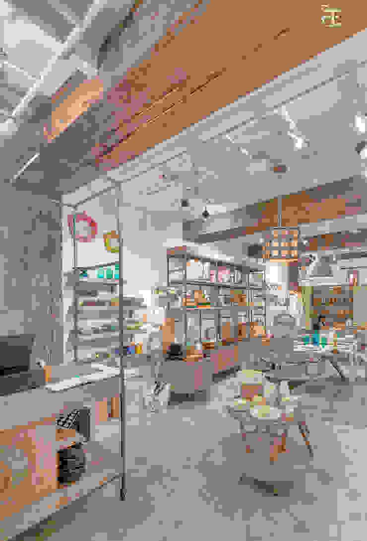 flamingo architects Espaces commerciaux modernes