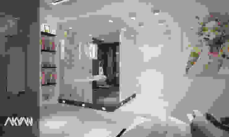 Hôtels modernes par AKYAN Moderne Bois composite
