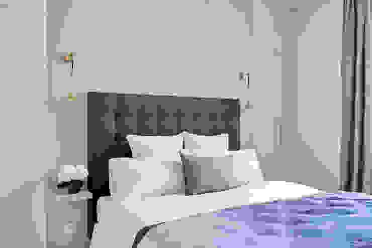 Lichelle Silvestry Interiors Cuartos de estilo moderno Azul